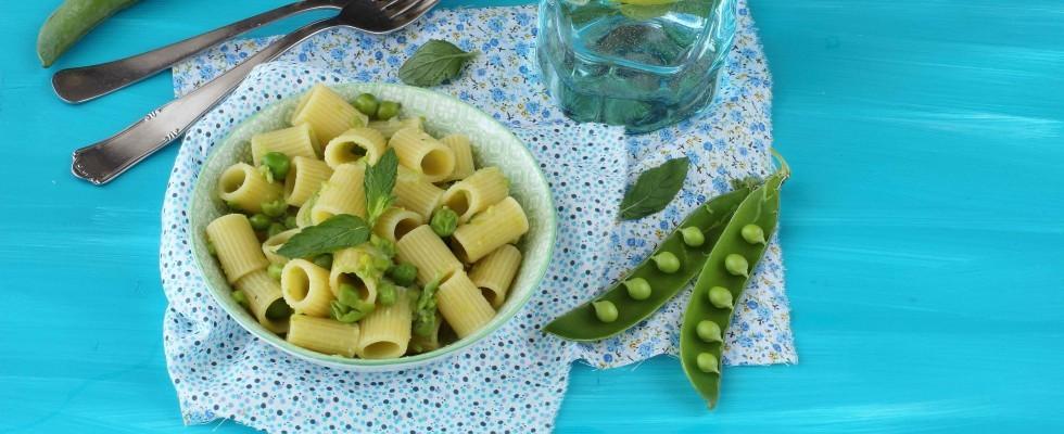 Pasta e piselli: ricetta vegetariana