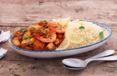 Cous cous di pesce: piatto unico