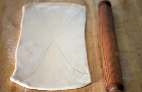 La stesura della pasta sfoglia