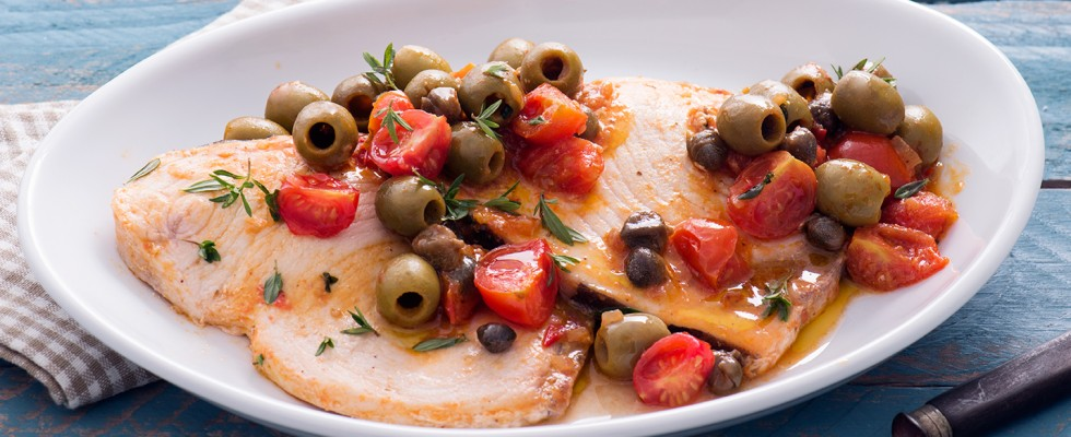 Pesce spada alla siciliana: cucina mediterranea