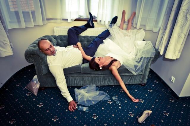 sposi ubriachi