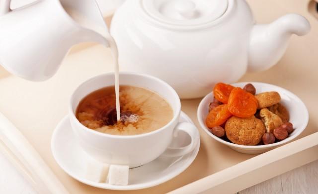 Tè al latte