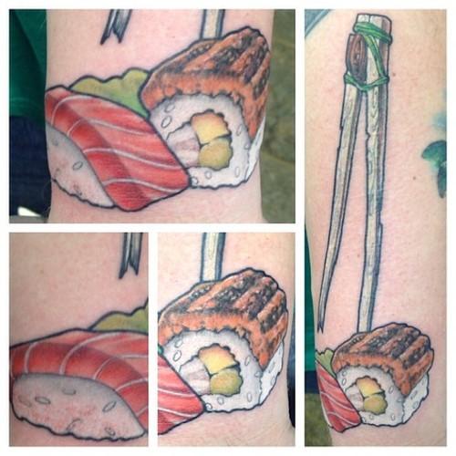 Food & Tattoo: la strana moda del cibo indelebile - Foto 12