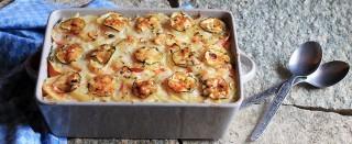 Tiella riso patate e cozze: profumi dalla Puglia