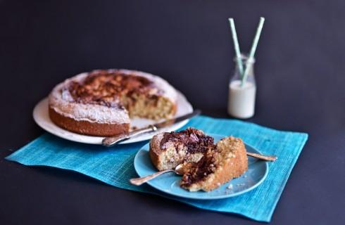 Torta cocco e Nutella: per i più golosi