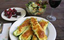 Ecco le zucchine ripiene vegetariane light, perfette per la dieta