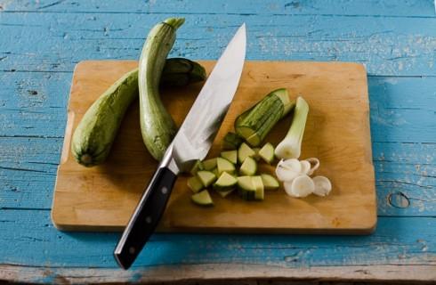 Le zucchine per il flan di zucchine