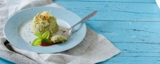 Flan di zucchine: elegante e raffinato