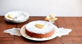 Caprese al limone: buona e senza glutine