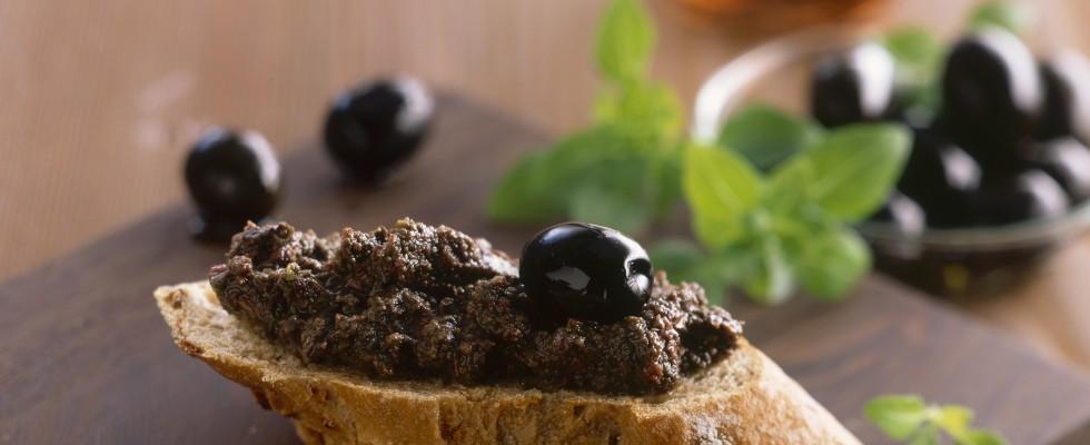 Pâté di olive nere: la ricetta