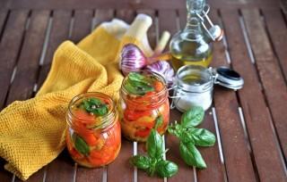Peperoni sott'olio: da conservare