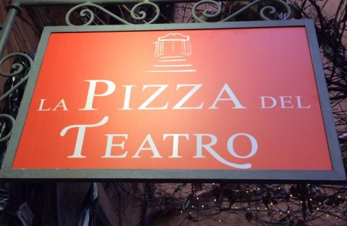 La Pizza del Teatro, Roma