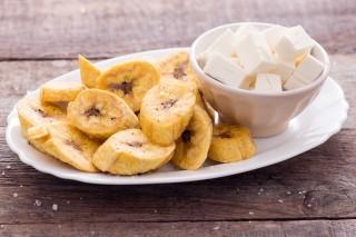 L'antipasto perfetto: il platano fritto