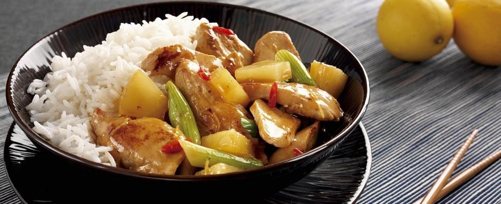 Pollo in agrodolce: ricetta esotica