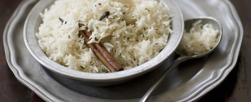Il riso pilaf dal Medio Oriente