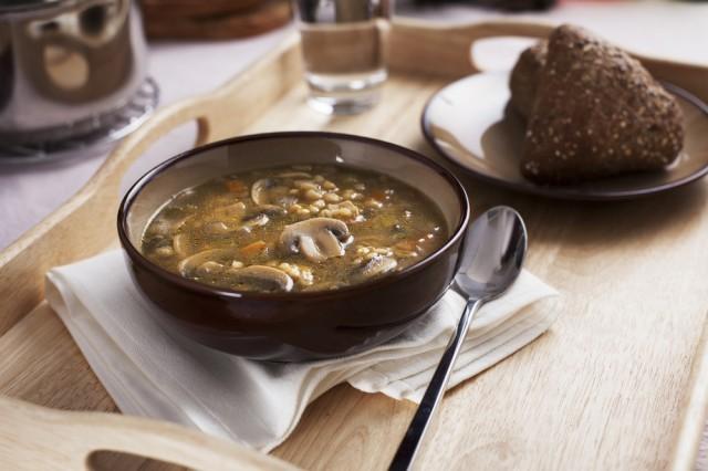 orzo minestra