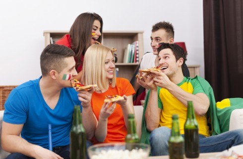 20 piatti per il mondiale in tv