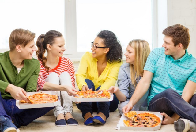 Studenti pizza