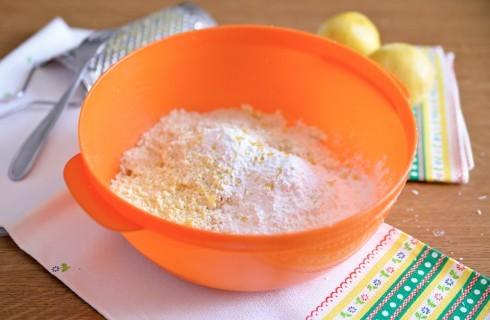 Gli ingredienti della caprese al limone