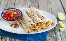 Burrito: tortillas arrotolate e farcite