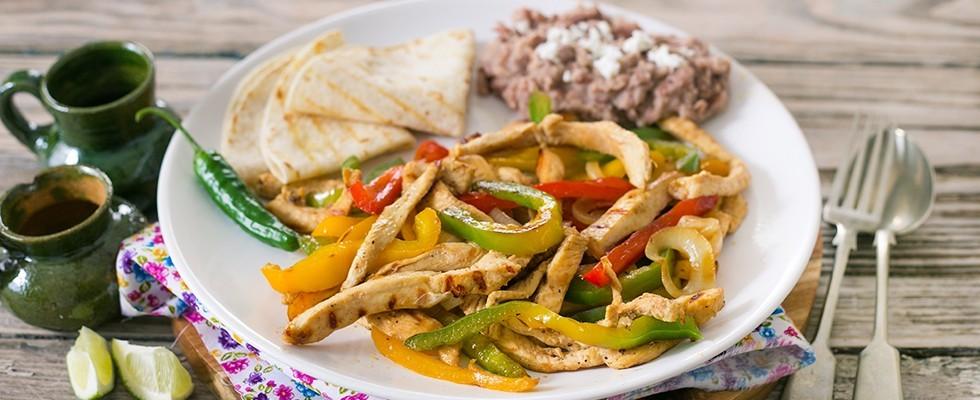Fajitas di pollo: trionfo della cucina Tex-Mex