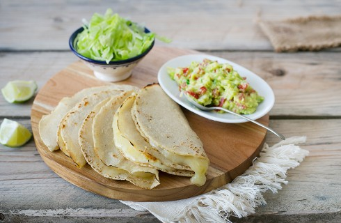 Quesadillas: street food messicano
