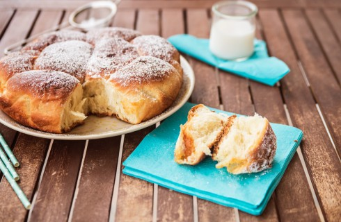 Danubio dolce: pan brioche farcito