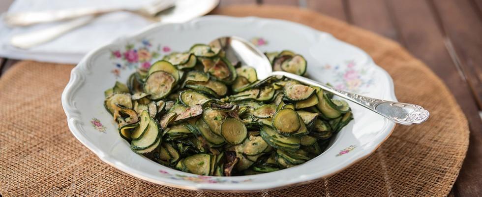 Zucchine trifolate: facilissime da cucinare