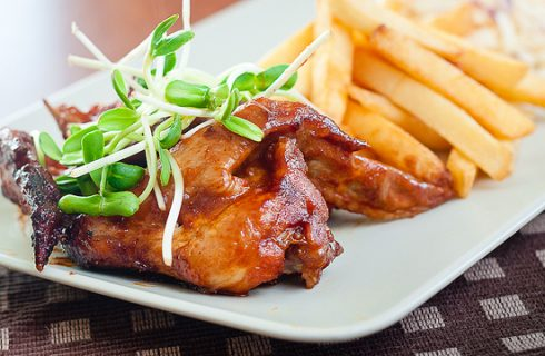 Ali di pollo al forno con le spezie, la ricetta light