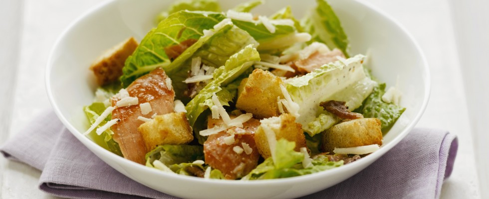 Caesar Salad con pollo: piatto unico