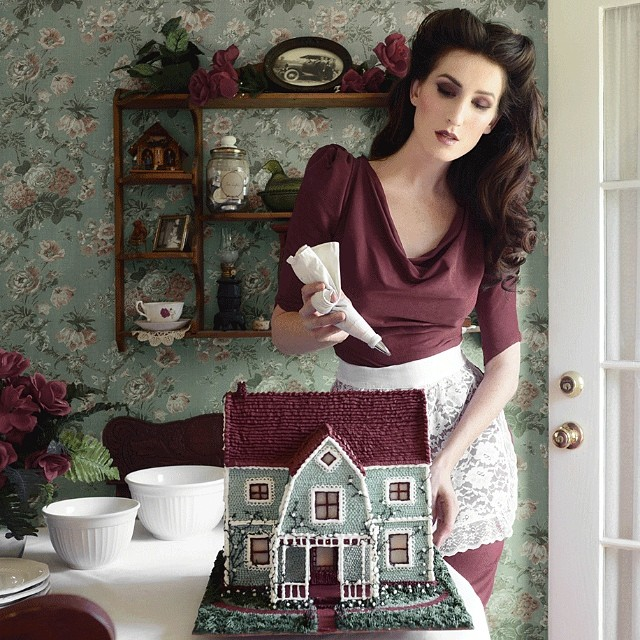 Bravissima Christine McConnell: torte dark e fotografia - Foto 4