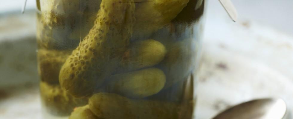 Cetriolini sottaceto