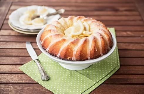 Ciambellone al limone senza burro