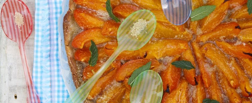 La crostata di albicocche fresche
