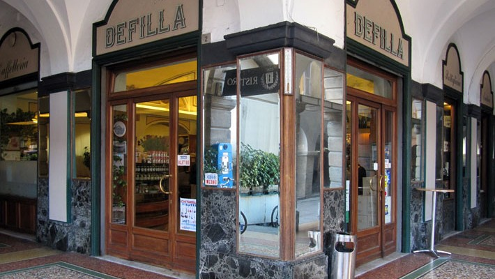 Enoteca del Gran Caffè Defilla, Chiavari