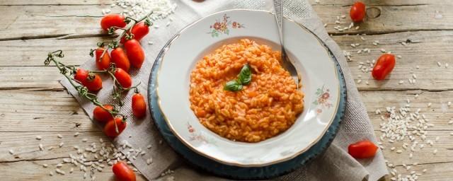 l risotto al pomodoro