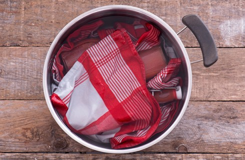 La preparazione della passata di pomodoro