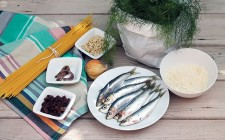 Pasta con le sarde step by step