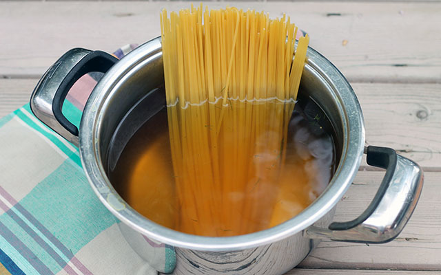 Pasta con le sarde step by step - Foto 8