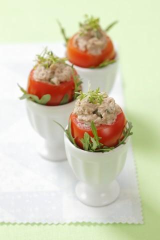 I pomodori ripieni di tonno