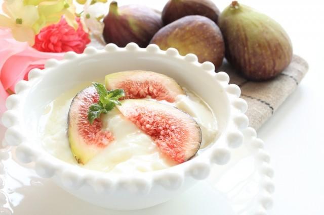 fichi, yogurt e menta
