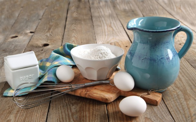 ingredienti per le crepes