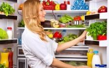 Frigorifero: a ogni cibo il suo ripiano