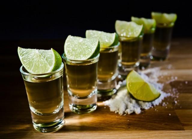 Tequila sale e lime