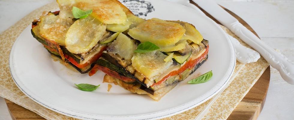 Tortino di verdure e formaggio