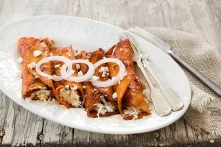 Enchiladas: farcite e arrotolate