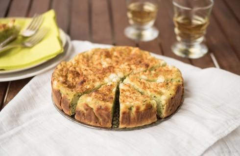 Dall'orto: tortino di zucchine