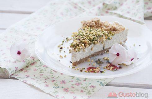 Il cheesecake senza cottura con la fotoricetta di Gustoblog