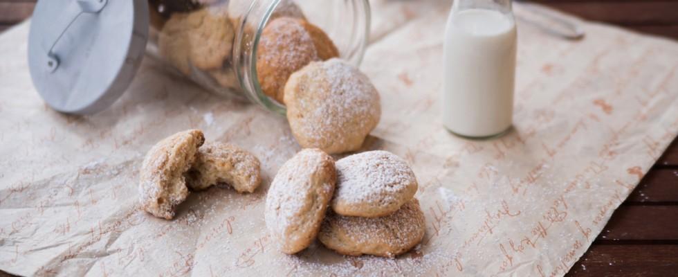 I biscotti senza burro