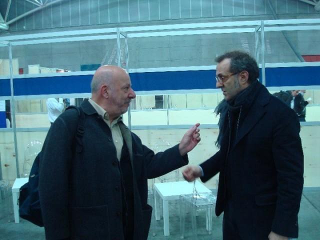 Stefano Bonilli e Massimo Bottura